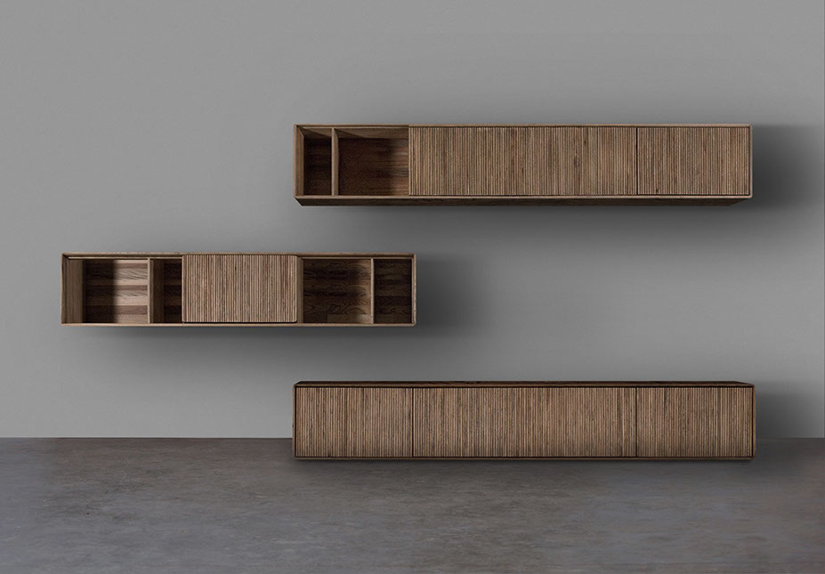 Massivholzmöbel Sideboard Modern ~ Evolution in Wood Design  Modular System