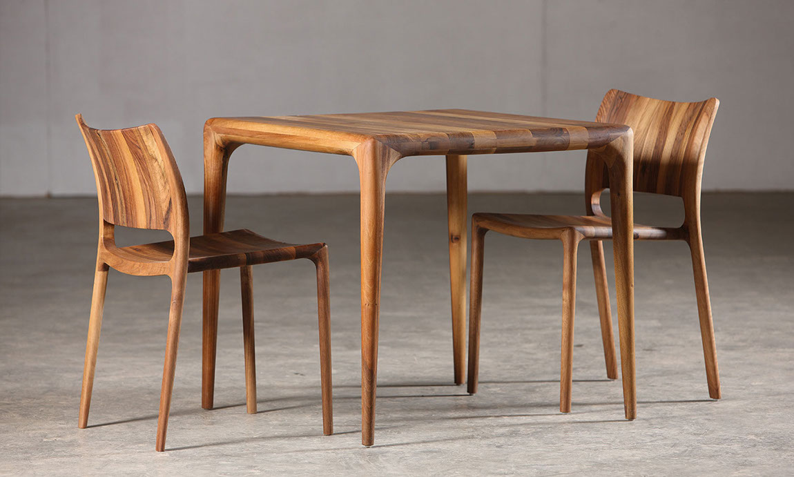 Evolution in Wood Design - CHAIRS